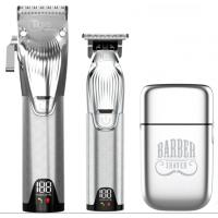 Набор для стрижки волос TICO Expert Silver машинка+триммер+шейвер