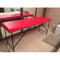 Кушетка для шугаринга, массажный стол KH130